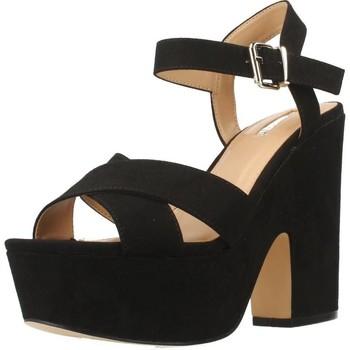 Schuhe Damen Sandalen / Sandaletten Be Different Be Yellow OWL Schwarz
