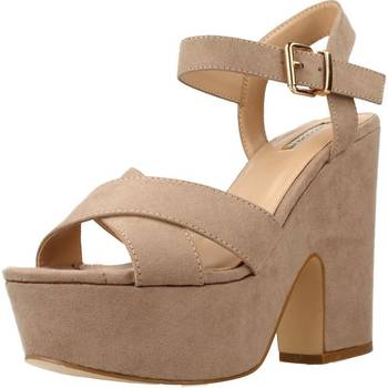 Schuhe Damen Sandalen / Sandaletten Be Different Be Yellow OWL Brown
