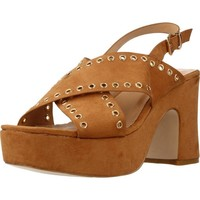 Schuhe Damen Sandalen / Sandaletten Be Different Be Yellow SWAN Brown