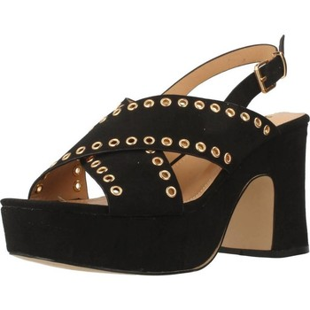 Schuhe Damen Sandalen / Sandaletten Be Different Be Yellow SWAN Schwarz