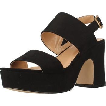 Schuhe Damen Sandalen / Sandaletten Be Different Be Yellow SONGBIRD Schwarz