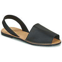 Schuhe Damen Sandalen / Sandaletten So Size LOJA Schwarz