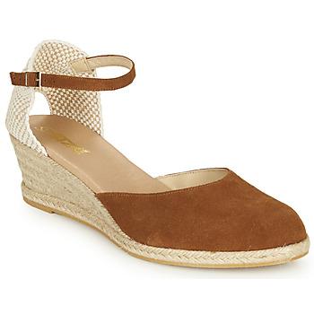 Schuhe Damen Sandalen / Sandaletten So Size JITRON Camel