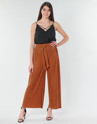 Kleidung Damen Fließende Hosen/ Haremshosen Moony Mood 93114-ROUILLE Braun