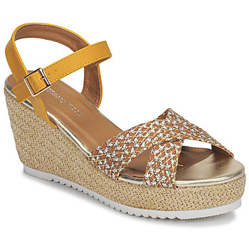Schuhe Damen Sandalen / Sandaletten Moony Mood MELISSA Ocker