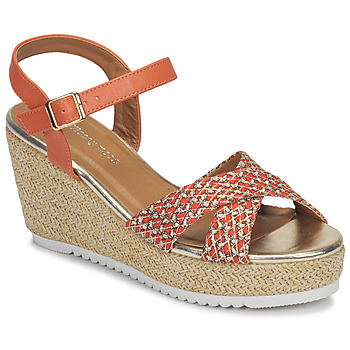 Schuhe Damen Sandalen / Sandaletten Moony Mood MELISSA Korallenrot