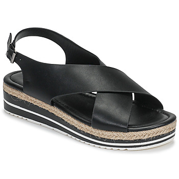 Schuhe Damen Sandalen / Sandaletten Moony Mood MELANIE Schwarz