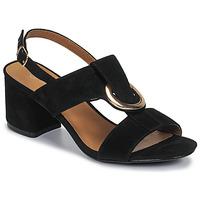 Schuhe Damen Sandalen / Sandaletten Moony Mood MANY Schwarz