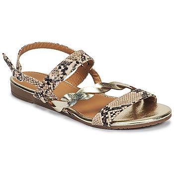 Schuhe Damen Sandalen / Sandaletten Moony Mood MELINDA Weiss