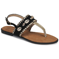 Schuhe Damen Sandalen / Sandaletten Moony Mood MARISE Schwarz