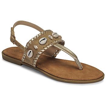 Schuhe Damen Sandalen / Sandaletten Moony Mood MARISE Beige