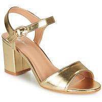 Schuhe Damen Sandalen / Sandaletten Moony Mood MEGANE Gold