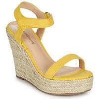 Schuhe Damen Sandalen / Sandaletten Moony Mood MARTA Gelb