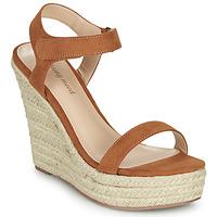 Schuhe Damen Sandalen / Sandaletten Moony Mood MARTA Camel