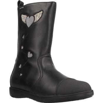 Schuhe Mädchen Low Boots Garvalin 191623 Schwarz