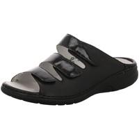 Schuhe Damen Pantoffel Waldläufer Pantoletten Gunna 204501-604/001 schwarz
