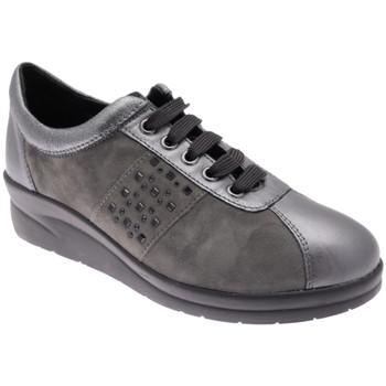 Schuhe Damen Sneaker Low Riposella RIP75693gr grigio