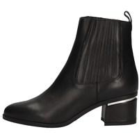 Schuhe Damen Low Boots Albano 1018 Schwarz