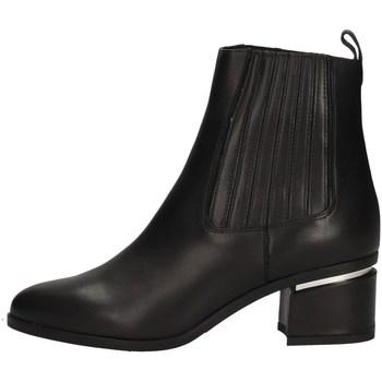 Schuhe Damen Low Boots Albano 1018 BLACK