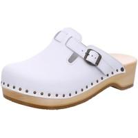 Schuhe Damen Pantoletten / Clogs Berkemann Pantoletten 00402 100 weiß