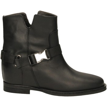 Schuhe Damen Low Boots Via Roma 15 SPACCO GANCIO ZAINO nero