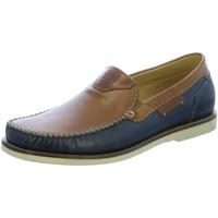 Schuhe Herren Slipper Galizio Torresi Slipper Cuoio/Vegas Blu 110674F braun