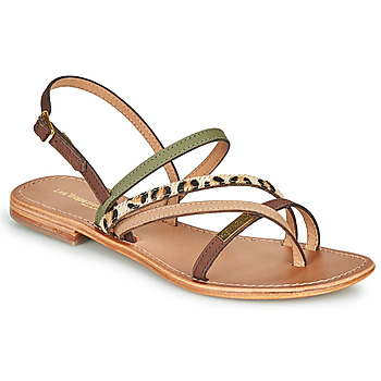 Schuhe Damen Sandalen / Sandaletten Les Tropéziennes par M Belarbi HOUKA Kaki