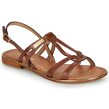 Schuhe Damen Sandalen / Sandaletten Les Tropéziennes par M Belarbi HACKLE Braun