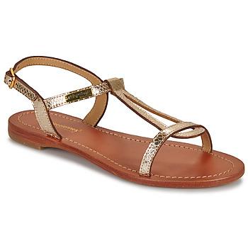 Schuhe Damen Sandalen / Sandaletten Les Tropéziennes par M Belarbi HAMAT Goldfarben