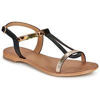 Schuhe Damen Sandalen / Sandaletten Les Tropéziennes par M Belarbi HAMAT Schwarz / Leopard