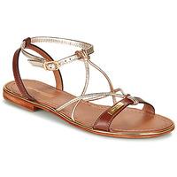 Schuhe Damen Sandalen / Sandaletten Les Tropéziennes par M Belarbi HIRONDEL Goldfarben