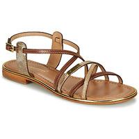 Schuhe Damen Sandalen / Sandaletten Les Tropéziennes par M Belarbi HARRY Goldfarben
