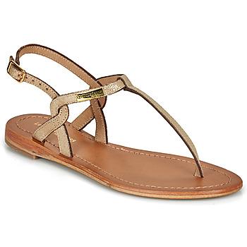 Schuhe Damen Sandalen / Sandaletten Les Tropéziennes par M Belarbi BILLY Goldfarben