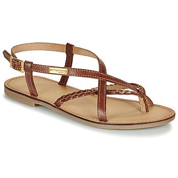 Schuhe Damen Sandalen / Sandaletten Les Tropéziennes par M Belarbi CHOU Braun