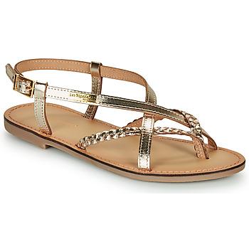 Schuhe Damen Sandalen / Sandaletten Les Tropéziennes par M Belarbi CHOU Goldfarben