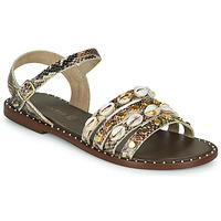Schuhe Damen Sandalen / Sandaletten Café Noir MIRADO Braun