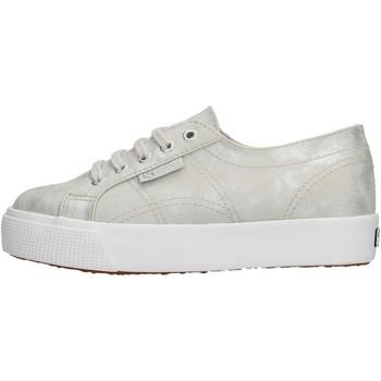 Schuhe Jungen Sneaker Low Superga - Sneaker argento S00FPE0 2730 972 ARGENTO