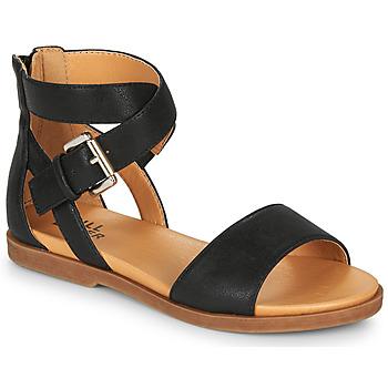 Schuhe Mädchen Sandalen / Sandaletten Bullboxer MELISSA Schwarz