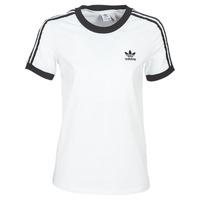 Kleidung Damen T-Shirts adidas Originals 3 STR TEE Weiss
