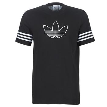 Kleidung Herren T-Shirts adidas Originals OUTLINE TEE Schwarz