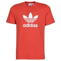 Kleidung Herren T-Shirts adidas Originals TREFOIL T-SHIRT Rot