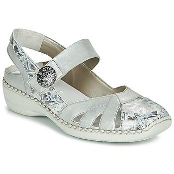Schuhe Damen Sandalen / Sandaletten Rieker KYLIAN Silbern