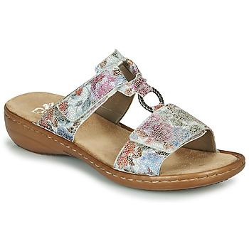 Schuhe Damen Pantoffel Rieker MOLA Multifarben