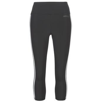 Kleidung Damen Leggings adidas Performance D2M 3S 34 TIG Schwarz