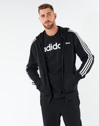 Kleidung Herren Sweatshirts adidas Performance E 3S FZ FT Schwarz