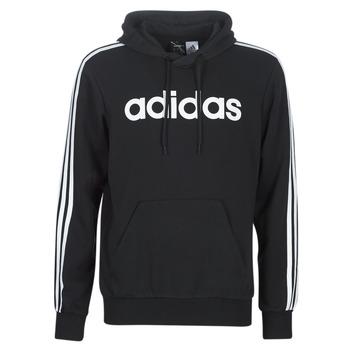 Kleidung Herren Sweatshirts adidas Performance E 3S PO FL Schwarz
