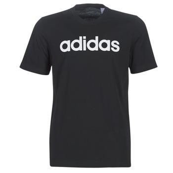 Kleidung Herren T-Shirts adidas Performance E LIN TEE Schwarz