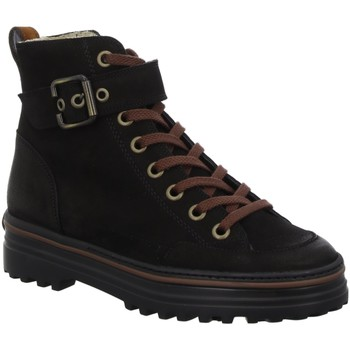Schuhe Herren Boots Paul Green Stiefeletten 4812 4812-025 schwarz