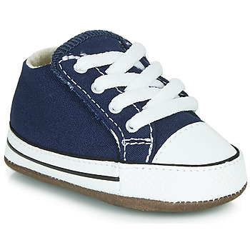 Schuhe Kinder Sneaker High Converse CHUCK TAYLOR FIRST STAR CANVAS HI Blau