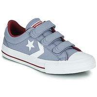 Schuhe Jungen Sneaker Low Converse STAR PLAYER 3V VARSITY CANVAS Grau
